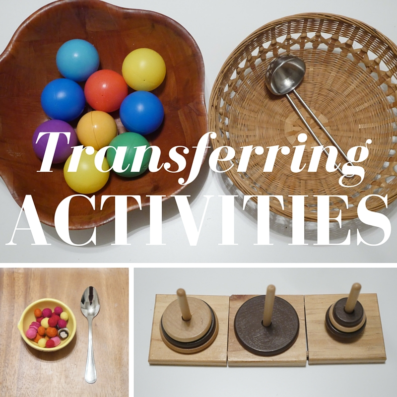 Transferring Activities | Mostly Montessori Blog